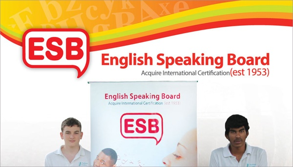 English Speaking Board